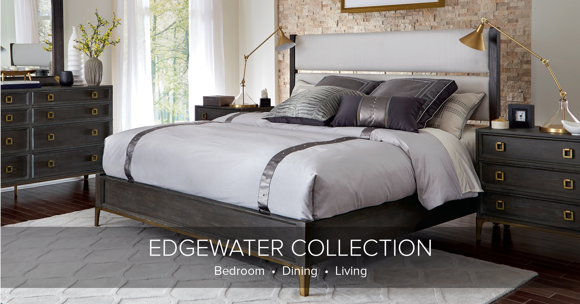 Hekman Edgewater Collection Banner