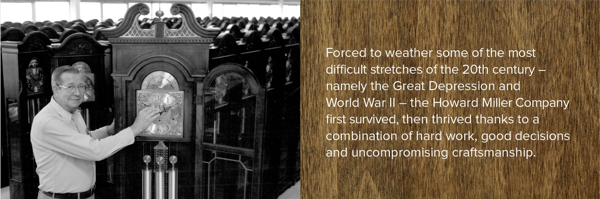 Howard Miller Survives The Great Depression