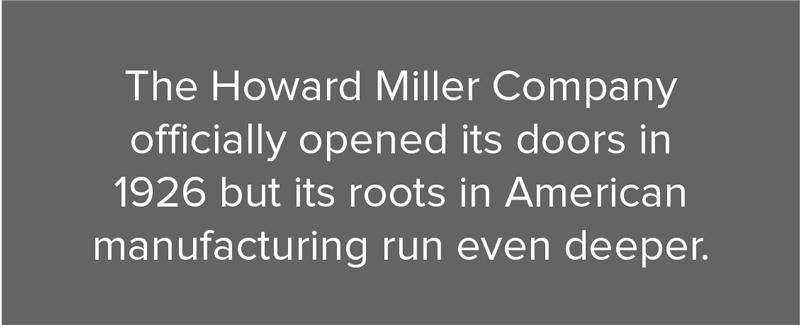 Howard Miller Legacy 1926