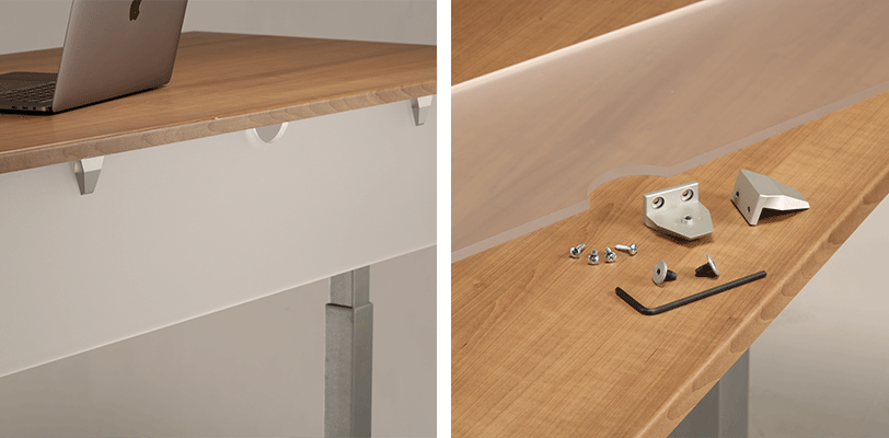 Modesty Panels for Adjustable Height Desk