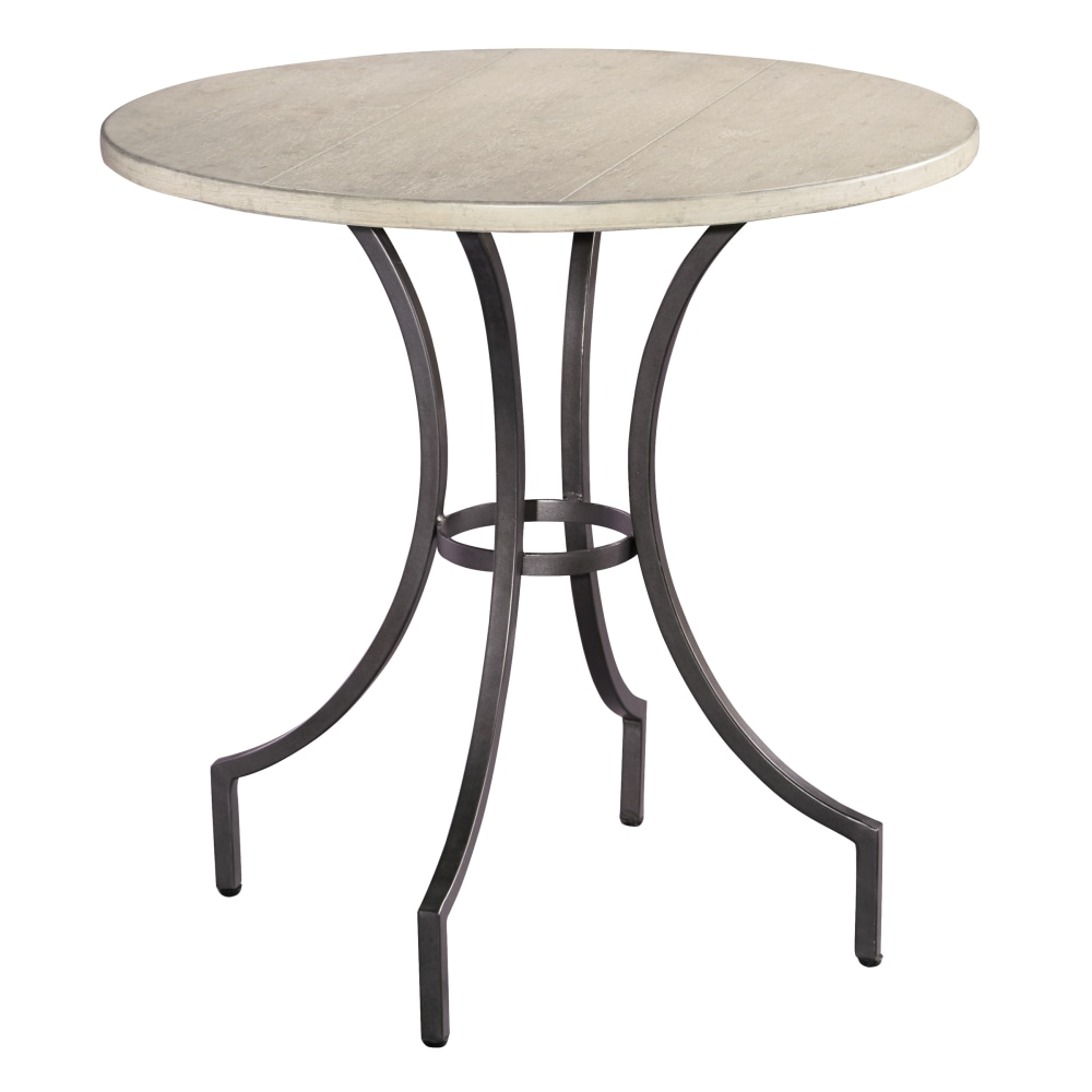 Image for 1-2210LN Homestead Primitive Round Iron Lamp Table from Hekman Official Website