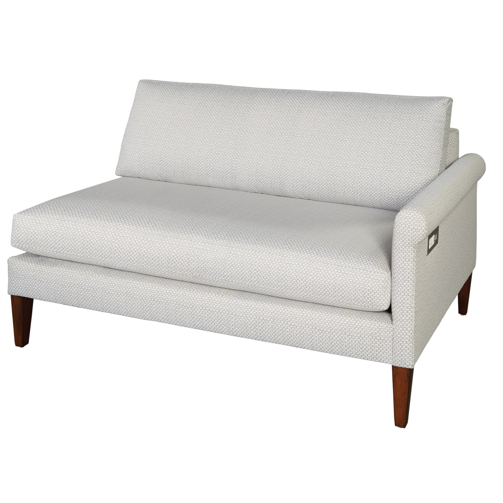 Image for 174262 Metro Rolled Arm Single Arm Sofa RAF from Hekman Official Website