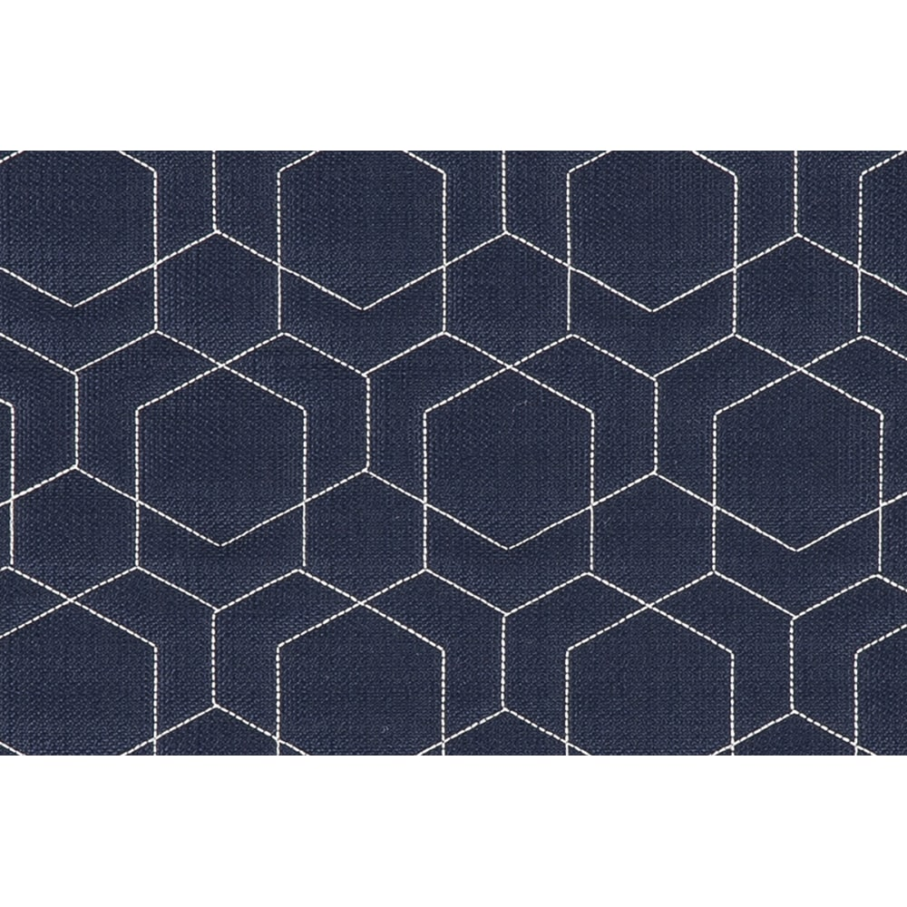 Image for 2014-051 O'HEXLINEN QUILT NAVY&WHT from Hekman Official Website