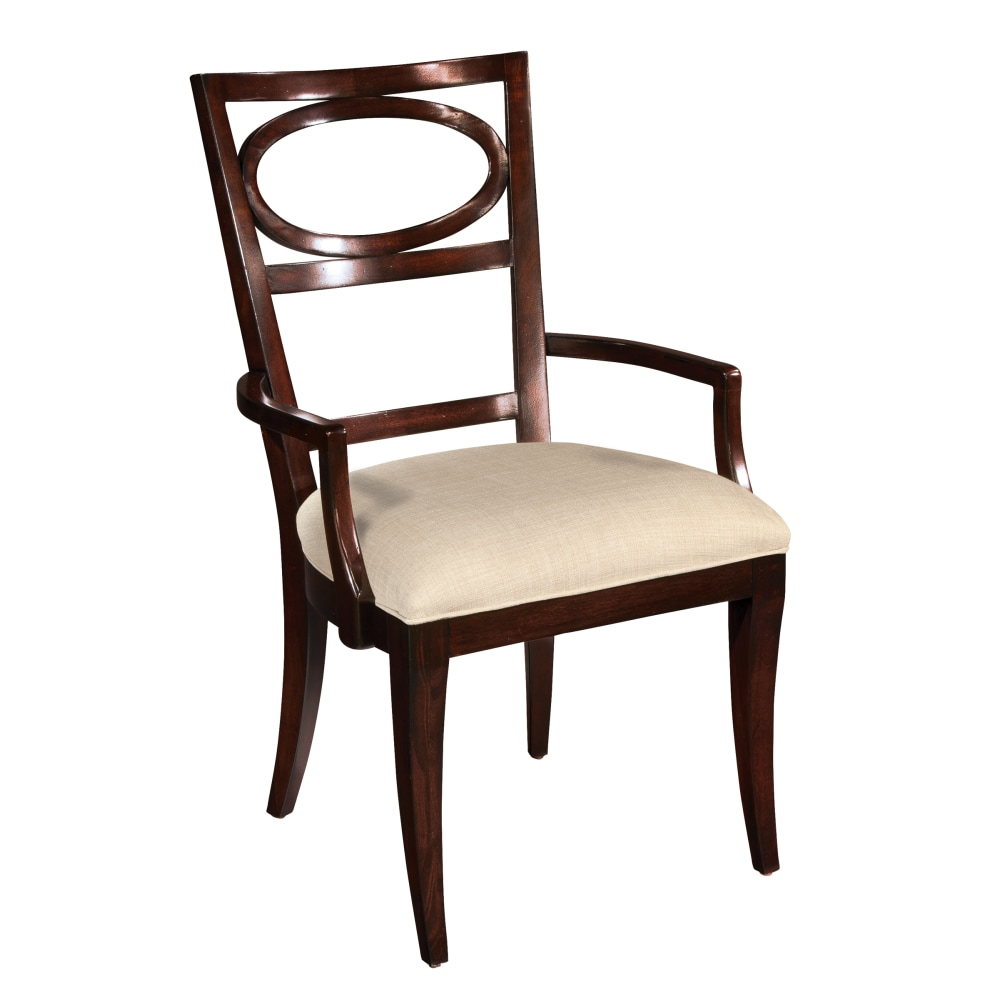 Image for 2-3124 Central Park Oval Back Arm Chair from Hekman Official Website