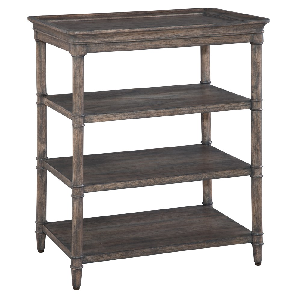 Image for 2-3507 Lincoln Park Three-Shelf Lamp Table from Hekman Official Website