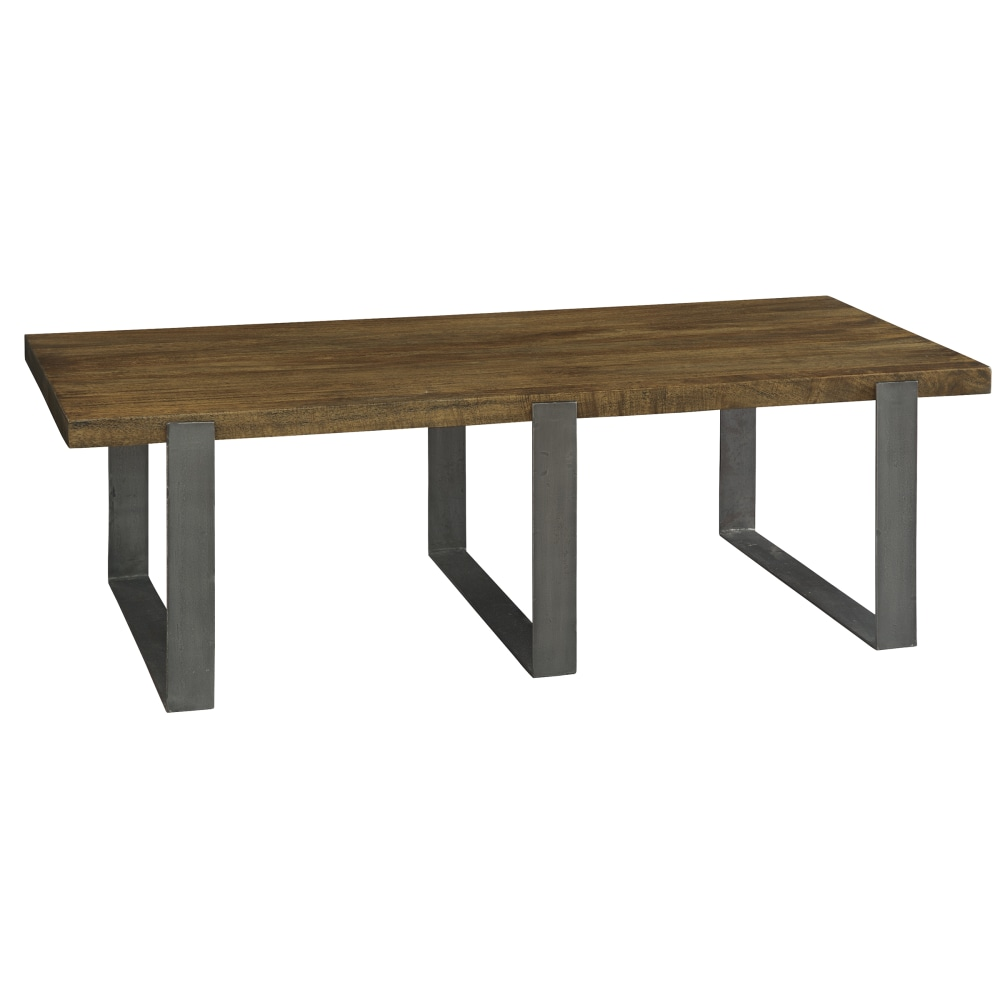 Image for 2-3700 Bedford Park Iron Strapping Rectangular Coffee Table from Hekman Official Website