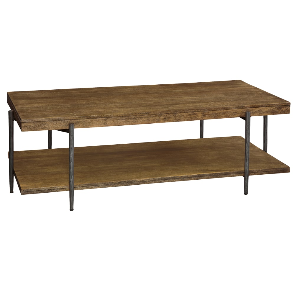 Image for 2-3701 Bedford Park Rectangular Coffee Table with Shelf from Hekman Official Website