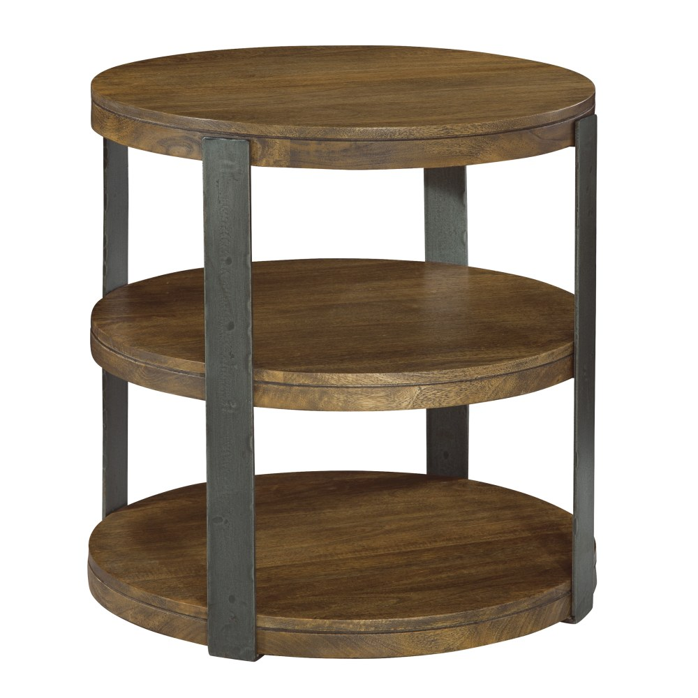 Image for 2-3706 Bedford Park Iron Strapping Round Table from Hekman Official Website
