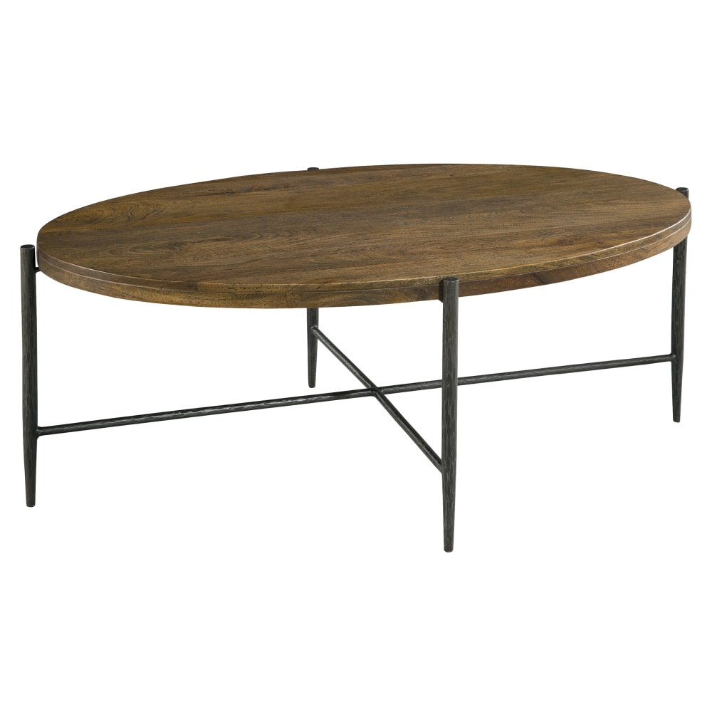 Image for 2-3712 Bedford Park Metal & Wood Oval Coffee Table from Hekman Official Website