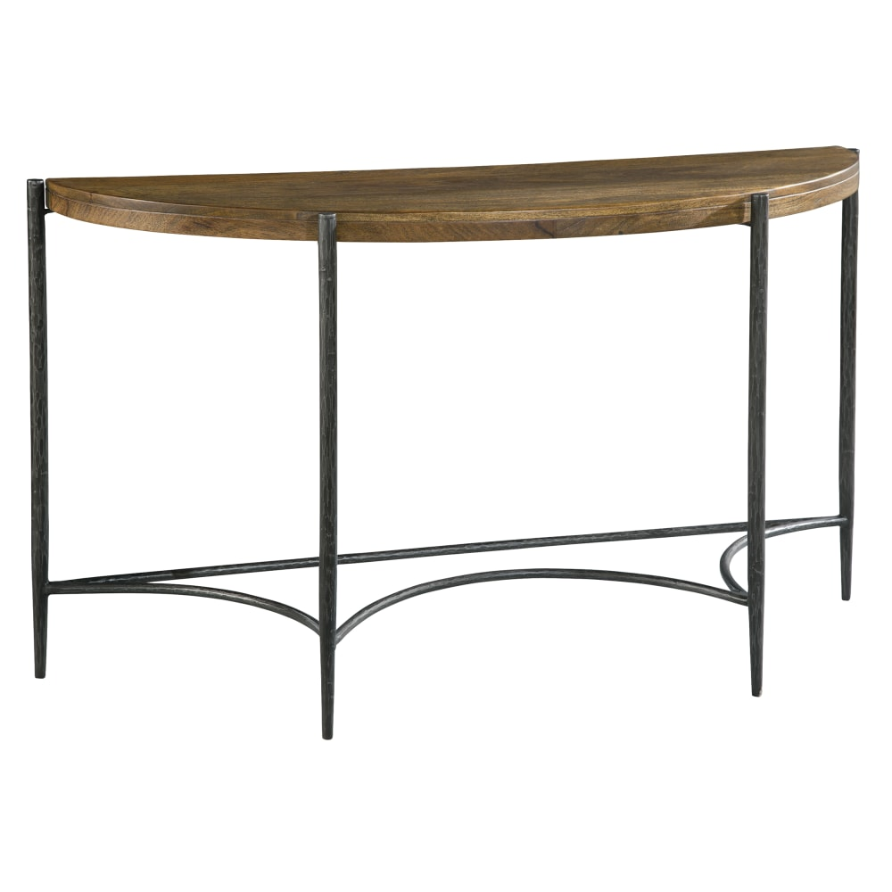 Image for 2-3715 Bedford Park Metal & Wood Demilune Table from Hekman Official Website