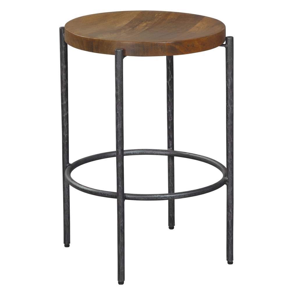 Image for Hekman Furniture Bedford Park Brown Round Wooden Pub Stool 23729 from Hekman Official Website