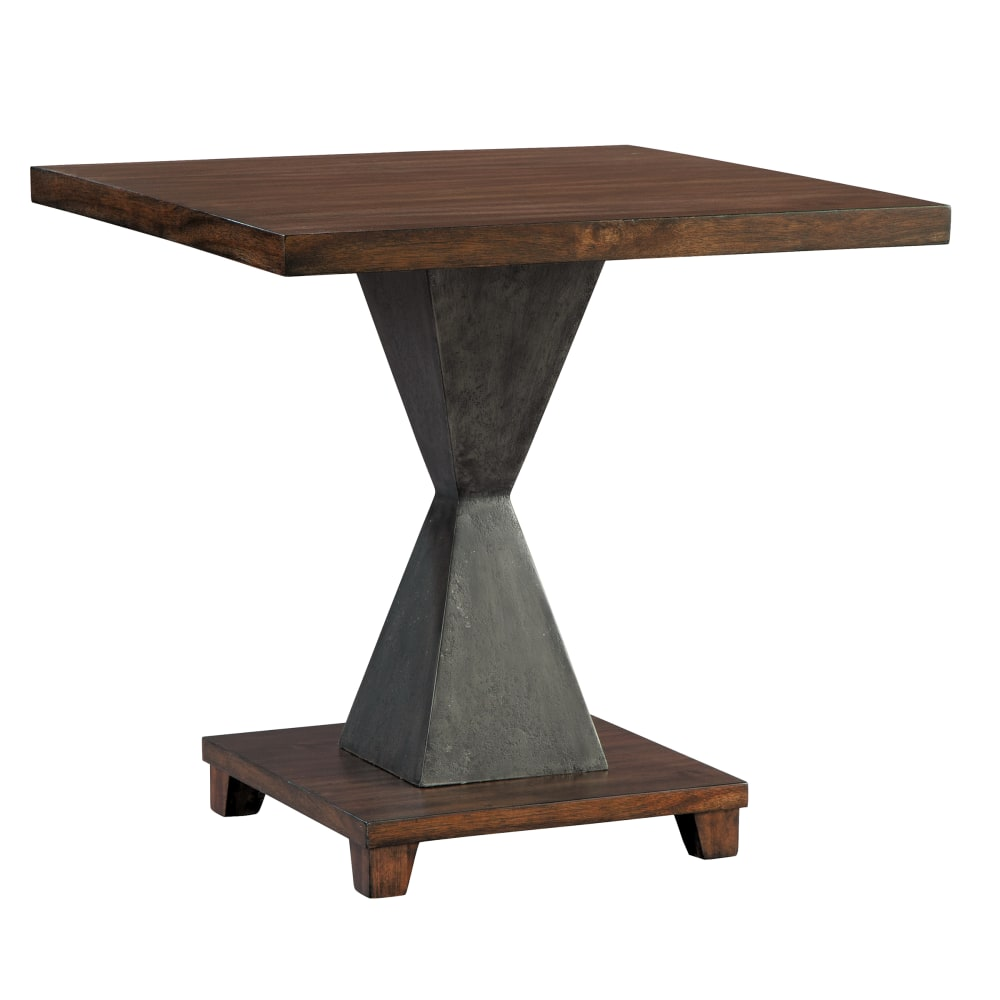 Image for 2-4308 Monterey Point Metal Pedestal Base Lamp Table from Hekman Official Website