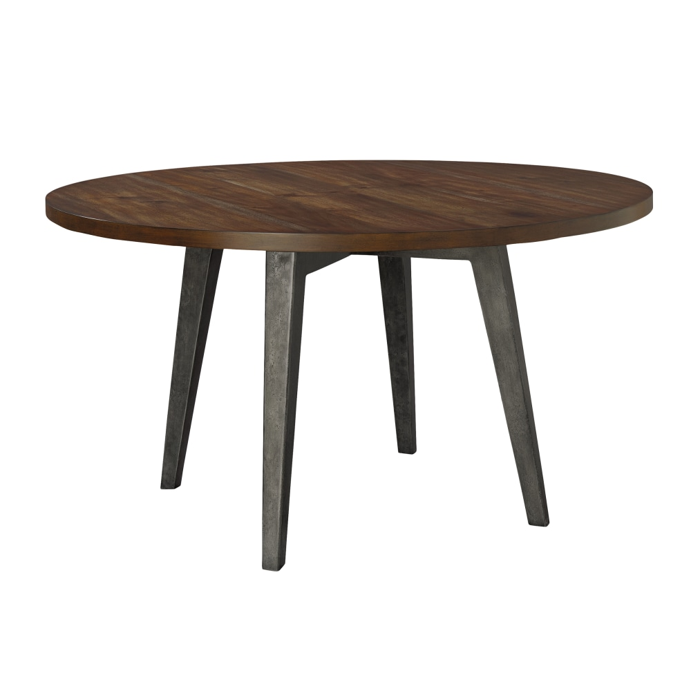 "Image for 2-4319 Monterey Point 48"" Round Splayed Leg Dining Table from Hekman Official Website"