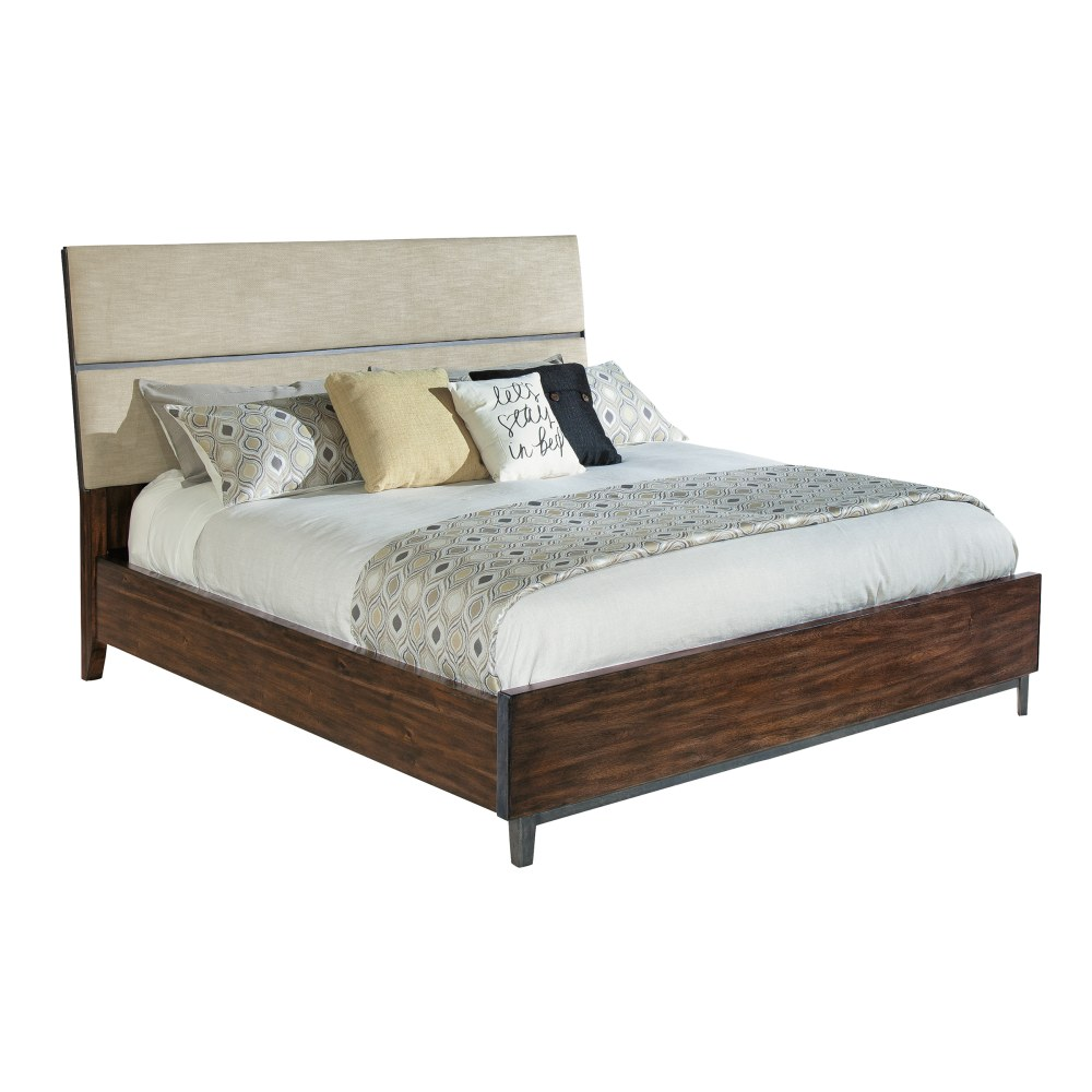 Image for 2-4368 Monterey Point King Upholstered Planked Panel Bed from Hekman Official Website
