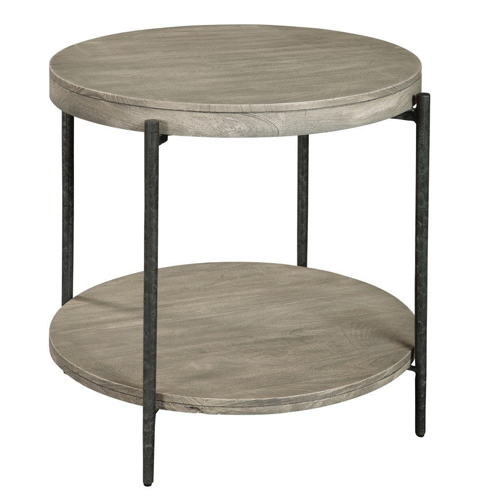 Image for Hekman Furniture Bedford Park Gray Round Side Table 24904 from Hekman Official Website