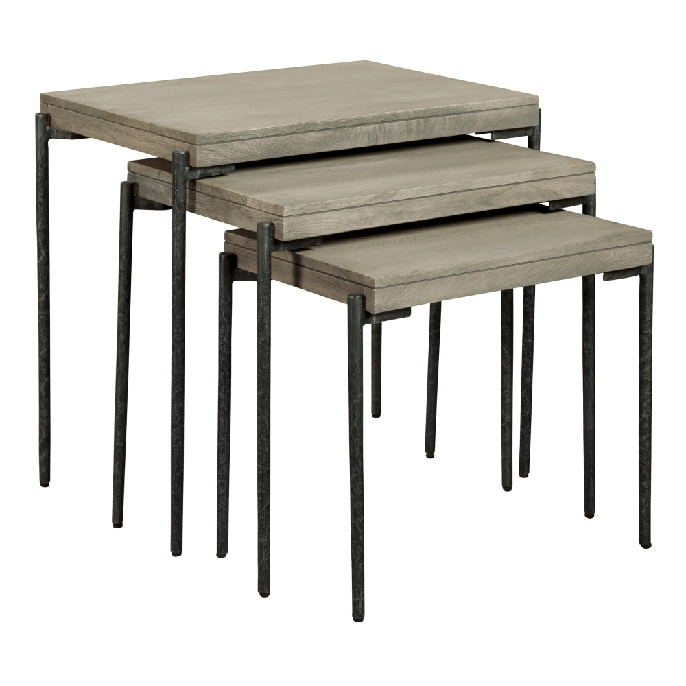 Image for Hekman Furniture Bedford Park Gray Nest of Tables 24910 from Hekman Official Website
