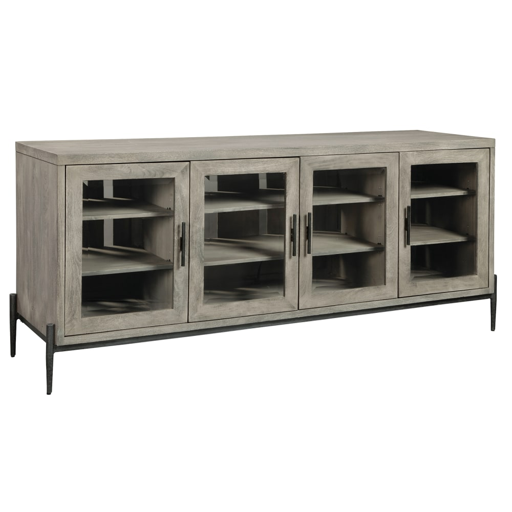 Image for Hekman Furniture Bedford Park Gray Entertainment Console 24950 from Hekman Official Website