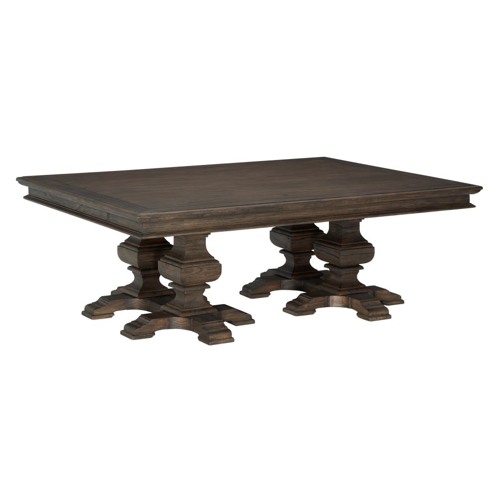 Image for 25411 Wellington Estates Rectangular Pedestal Coffee Table from Hekman Official Website