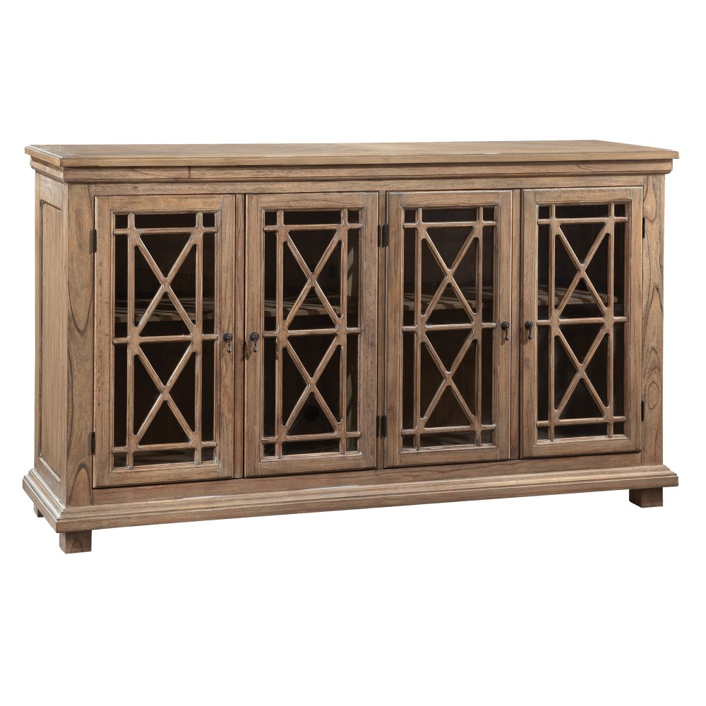 Image for 2-7299 Lattice Front Entertainment Console from Hekman Official Website