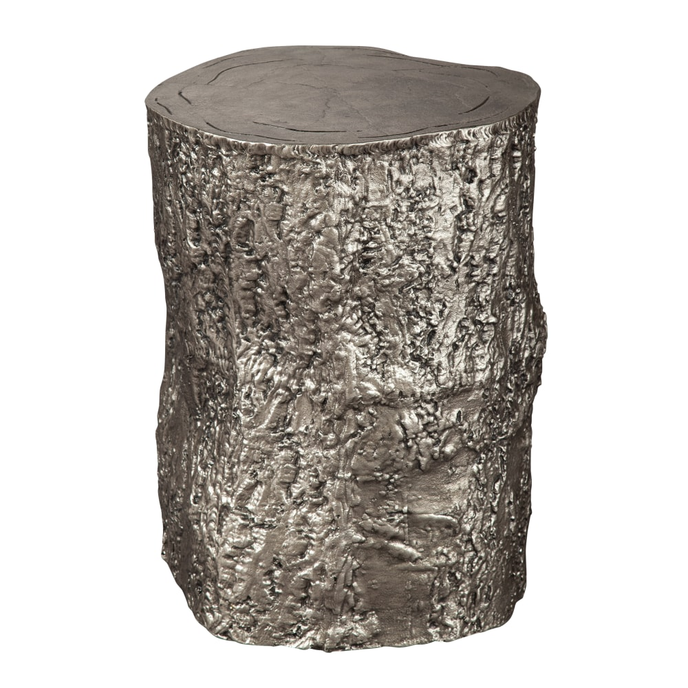 Image for 2-7755 Antique Nickel Tree Trunk Stool from Hekman Official Website