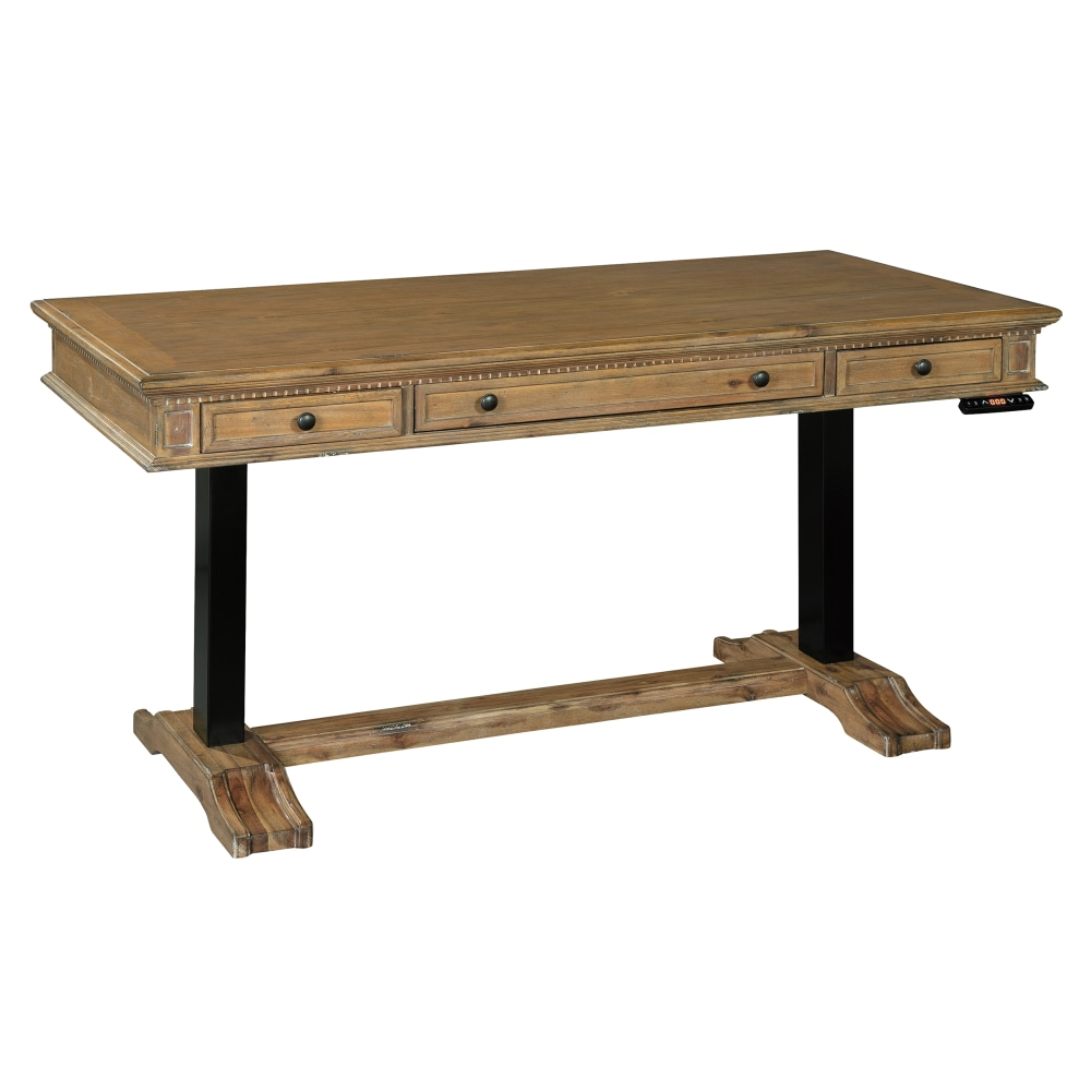 Image for 2-7972 Wellington Hall Adjustable Height Desk from Hekman Official Website