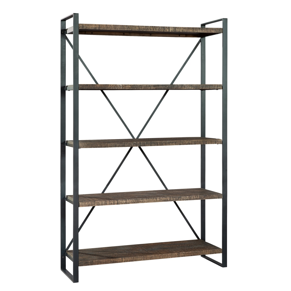 Image for 2-8055 office@home Pittsburgh Industrial Open Shelving from Hekman Official Website