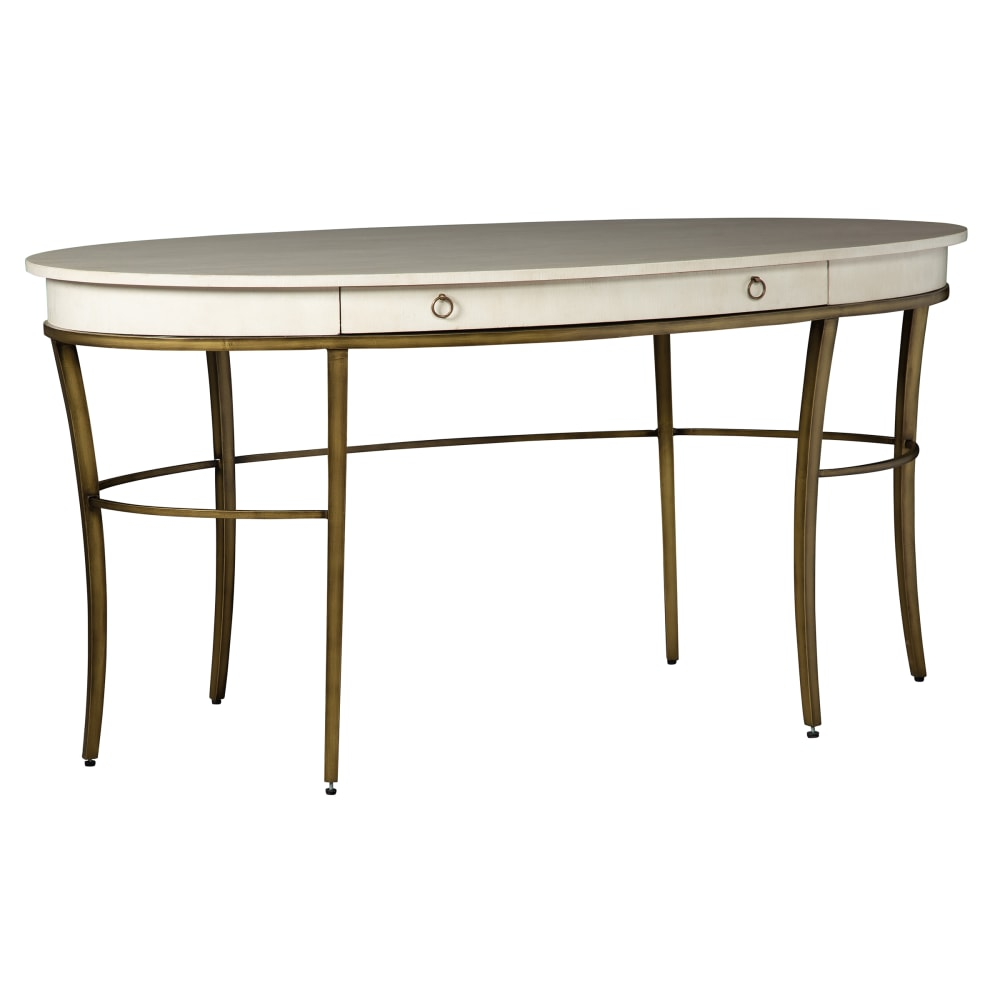 Image for 2-8164 Writing Desk-Gold Accents from Hekman Official Website