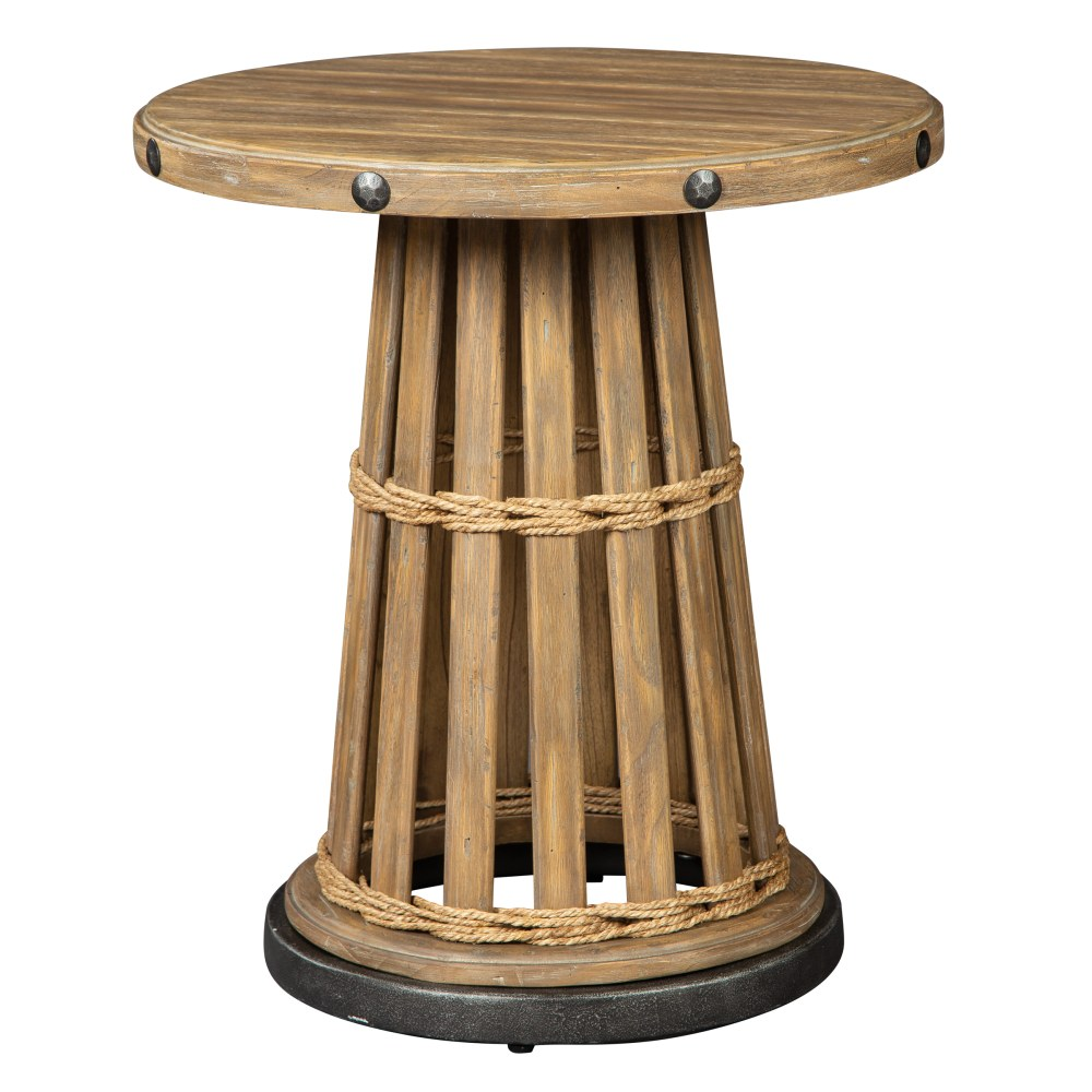 Image for 2-8334 Shoreline Round End Table from Hekman Official Website