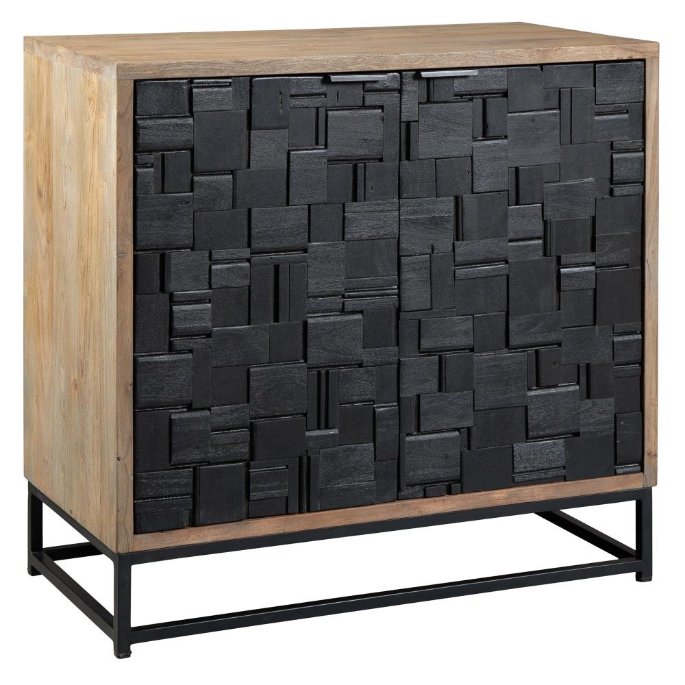 Image for 2-8341 Scrap Parquet Door Cabinet from Hekman Official Website