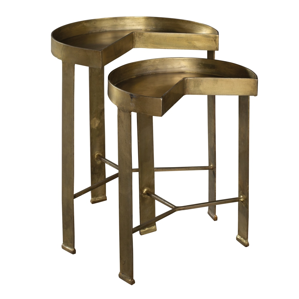 Image for 2-8410 Brass Nest of Tables from Hekman Official Website