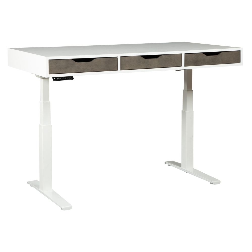 Image for 28480 Three-Drawer Adjustable Height Desk from Hekman Official Website