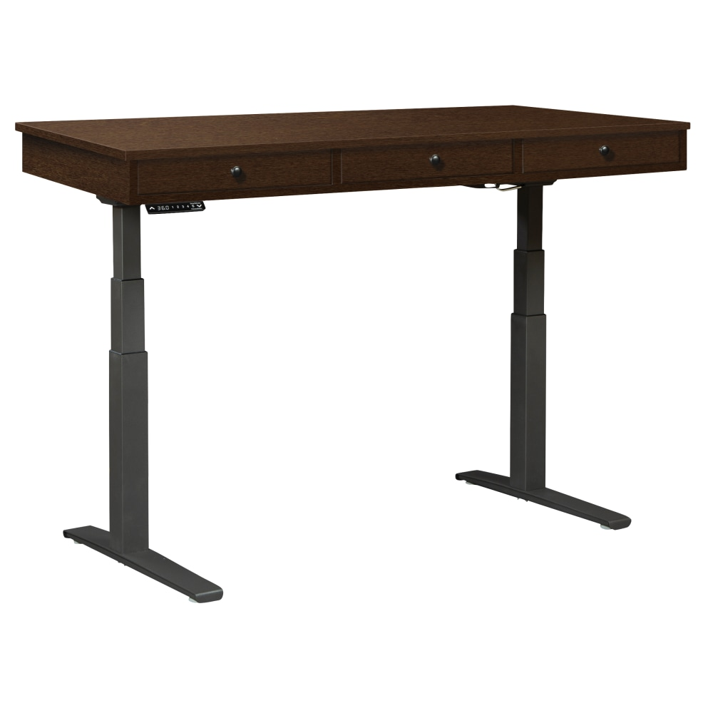 Image for 28486 CUSTOM Three-Drawer Adjustable Height Desk from Hekman Official Website