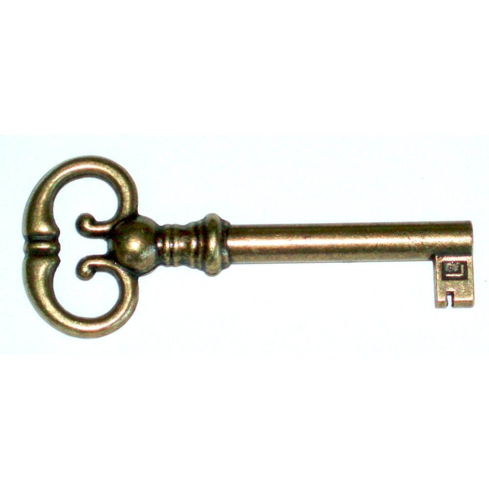 Image for Curio Sliding Door Key 390760 from Howard Miller Parts Store