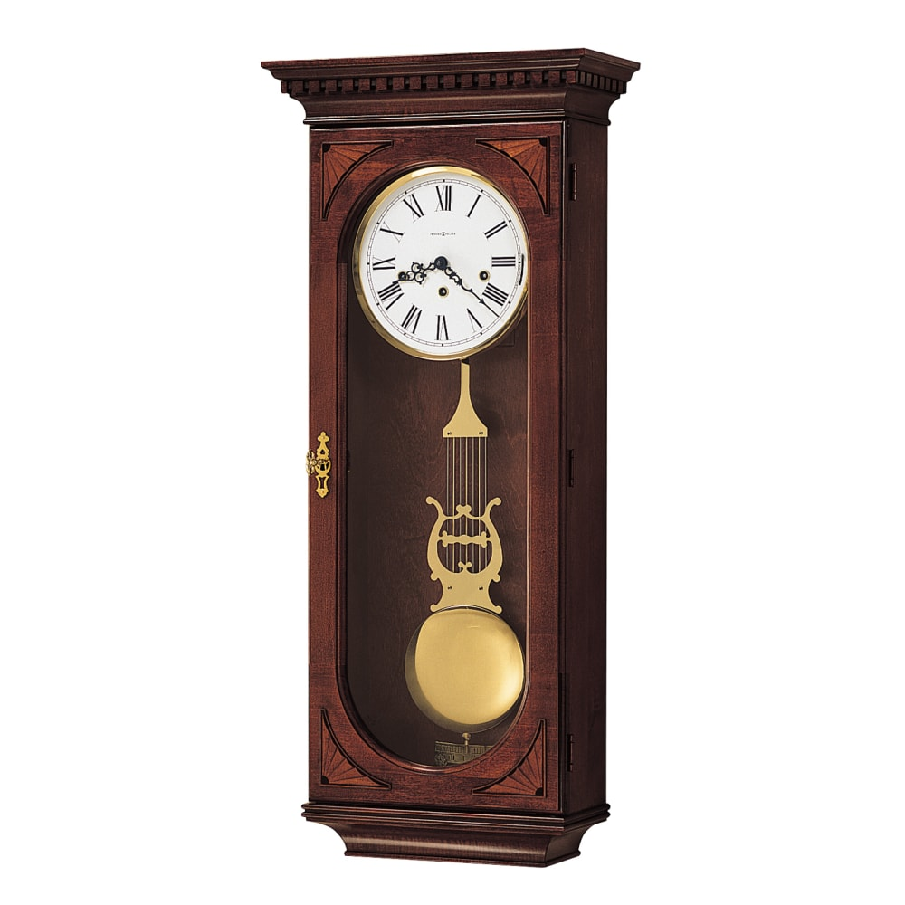 Image for Howard Miller Lewis Chiming Wall Clock 613637 from Howard Miller Official Website