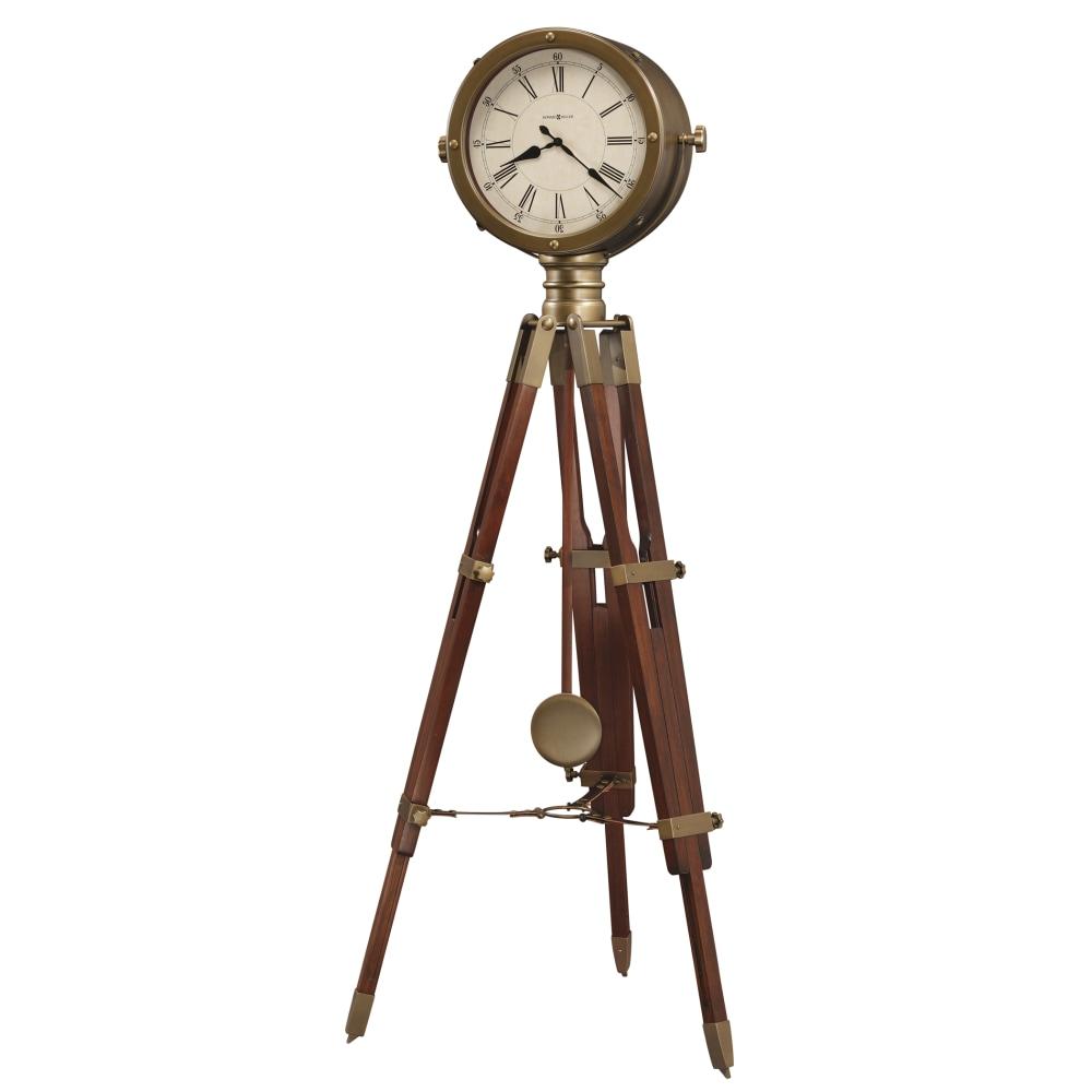 Image for Howard Miller Time Surveyor Tripod Grandfather Clock 615080 from Howard Miller Official Website