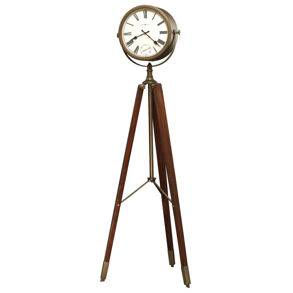 Image for Howard Miller Surveyor Tripod Floor Clock 615082 from Howard Miller Official Website
