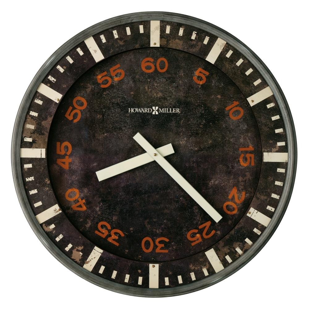 Image for Howard Miller Old School Oversized Wall Clock 625721 from Howard Miller Official Website