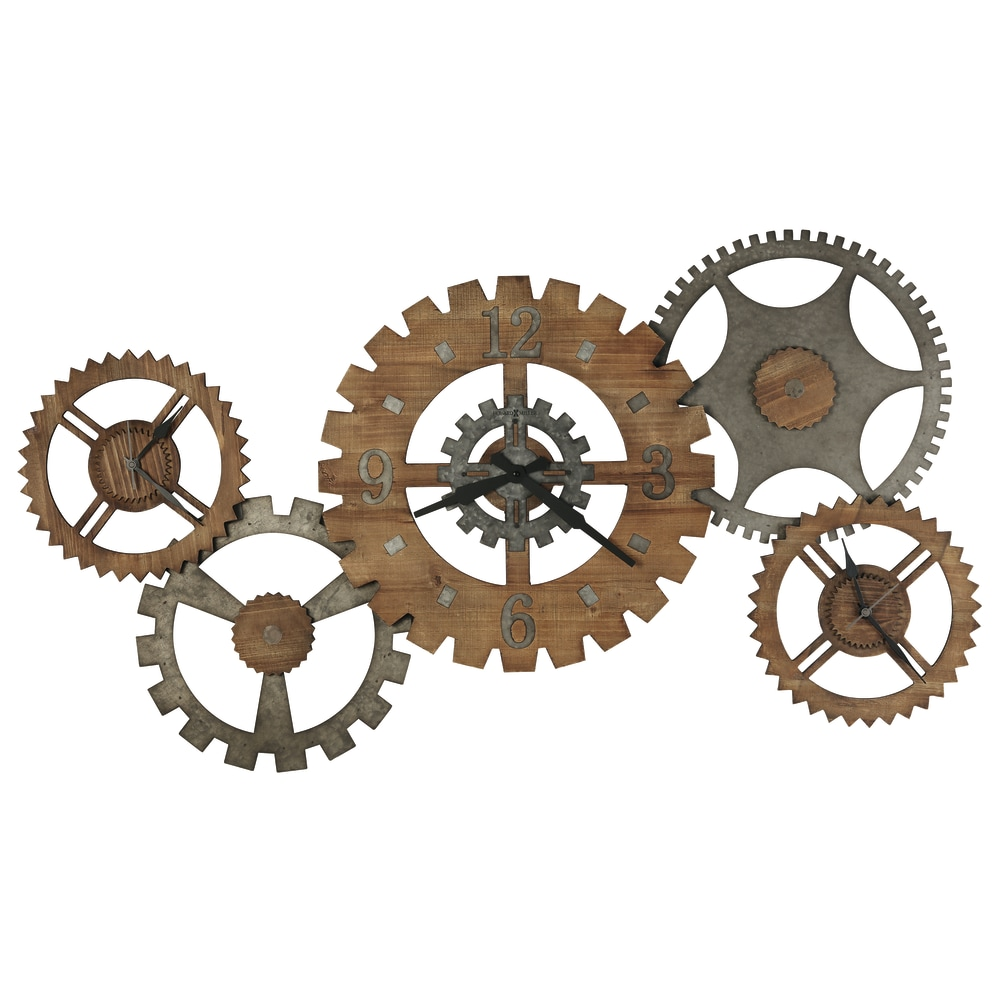 Image for Howard Miller Cogwheel III Oversized Wall Clock 625727 from Howard Miller Official Website