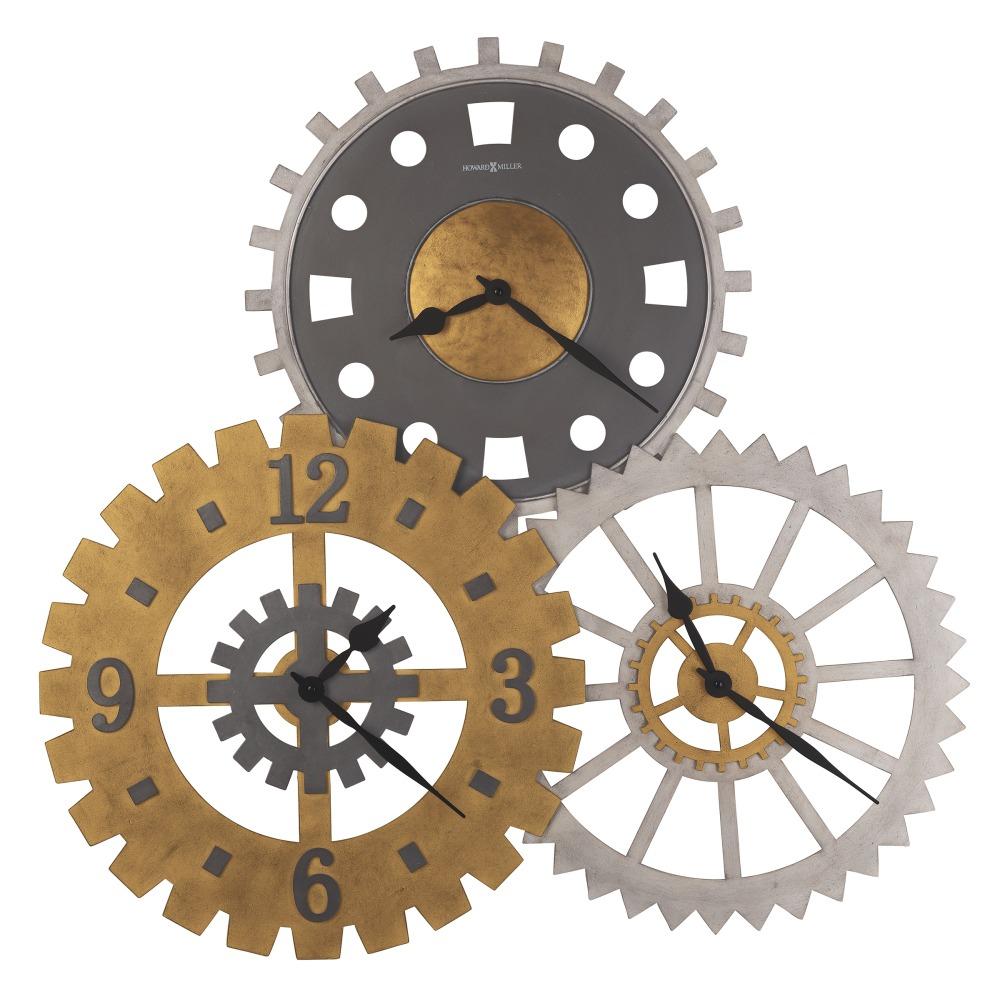 Image for Howard Miller Cogwheel II Oversized Wall Clock 625735 from Howard Miller Official Website
