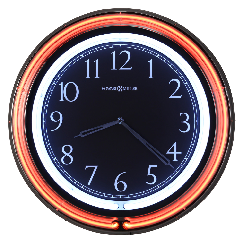 Image for Howard Miller Galleria Neon Wall Clock 625751 from Howard Miller Official Website