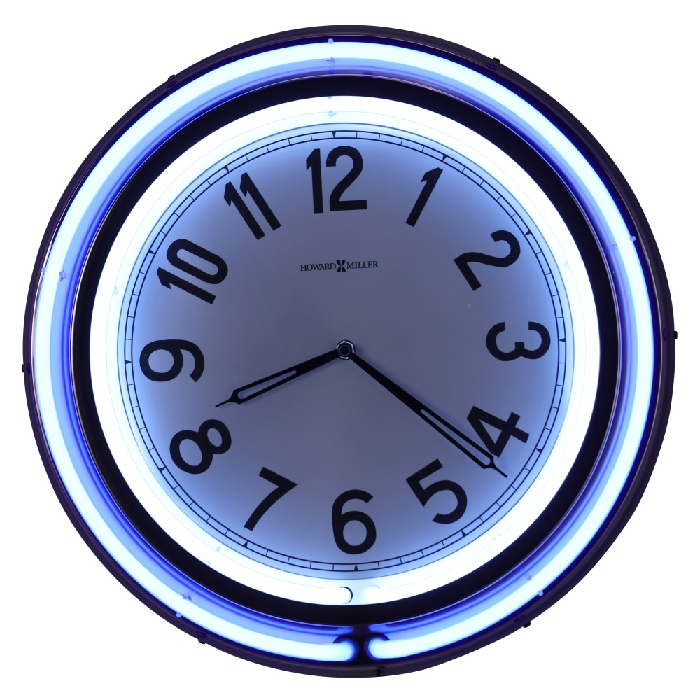 Image for Howard Miller Studio Neon Wall Clock 625752 from Howard Miller Official Website