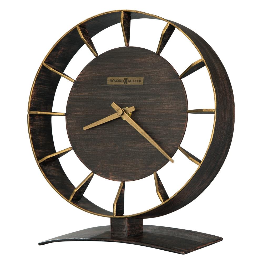 Image for Howard Miller Rey Metal Mantel Clock 635218 from Howard Miller Official Website