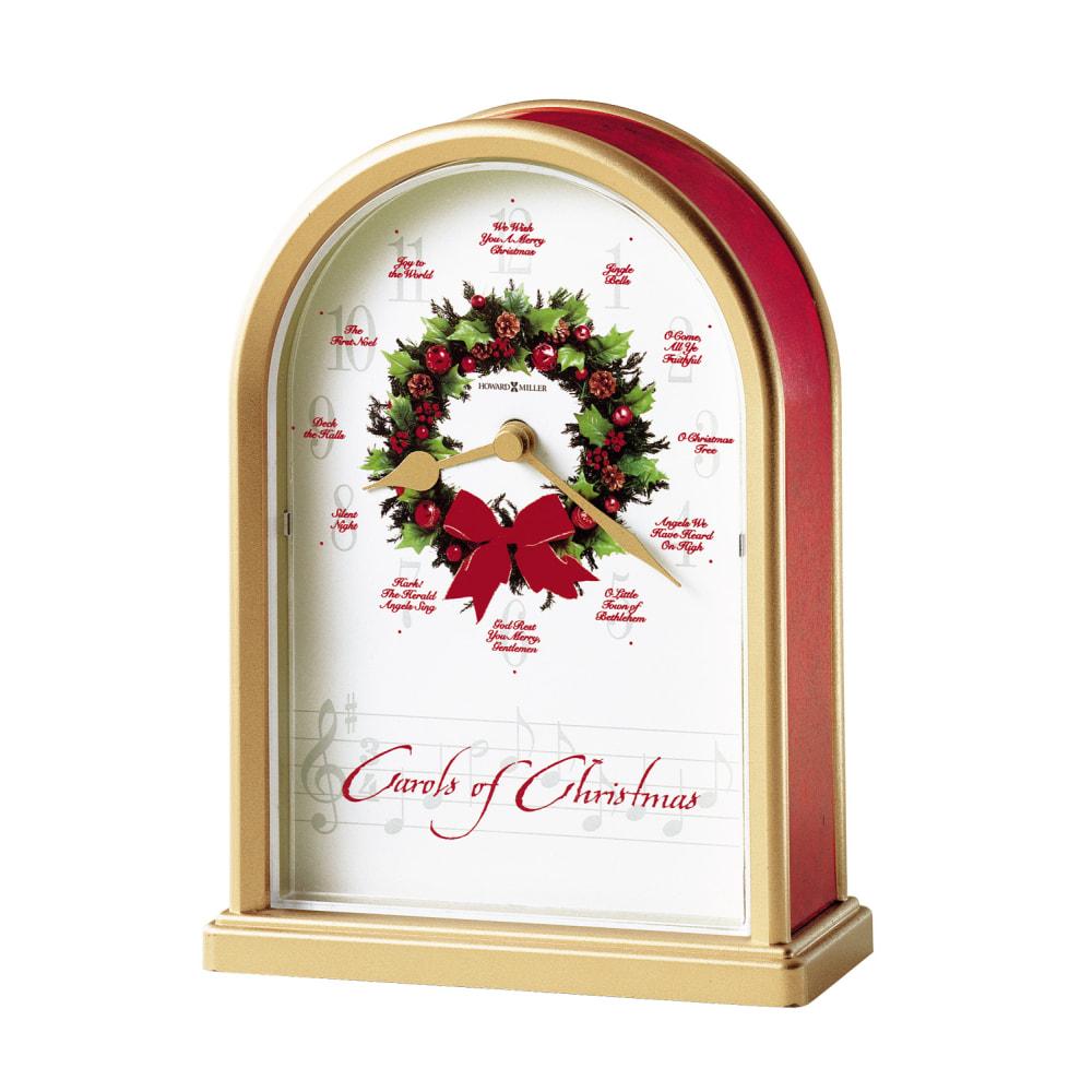 Image for Howard Miller Carols of Christmas II Table Clock 645424 from Howard Miller Official Website