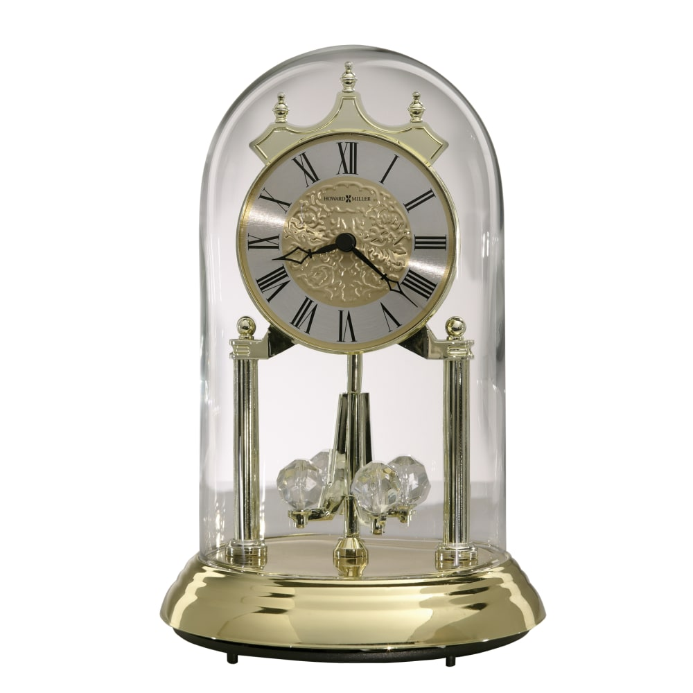 Image for Howard Miller Christina Gold Anniversary Table Clock 645690 from Howard Miller Official Website
