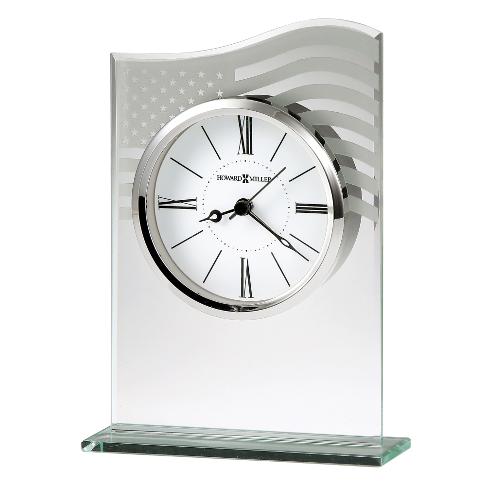Image for Howard Miller Liberty Alarm Table Clock 645779 from Howard Miller Official Website