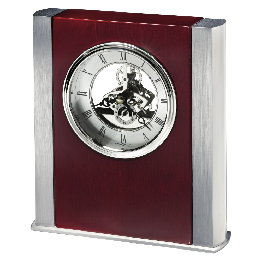Image for Howard Miller Grayson Silver Table Clock 645796 from Howard Miller Official Website