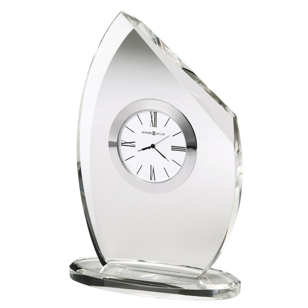 Image for Howard Miller Cascade Crystal Table Clock 645810 from Howard Miller Official Website