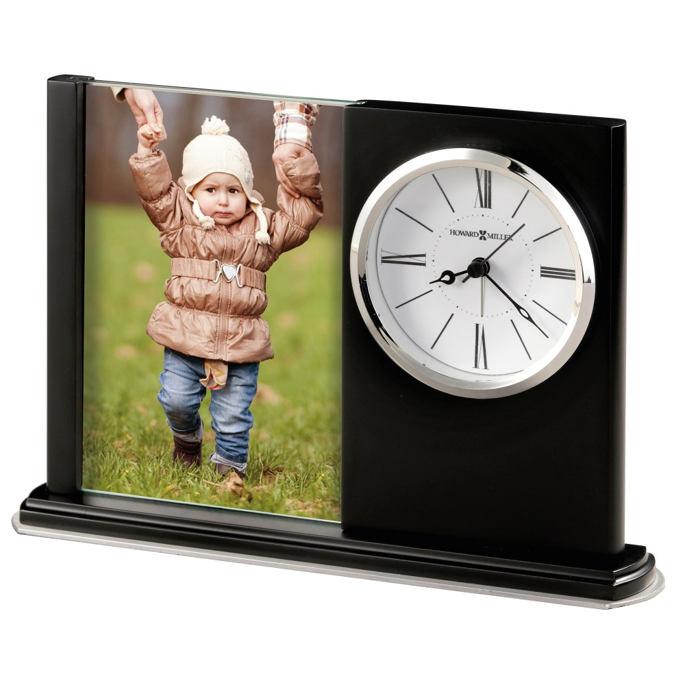 Image for Howard Miller Portrait Caddy III Photo Frame Clock 645817 from Howard Miller Official Website