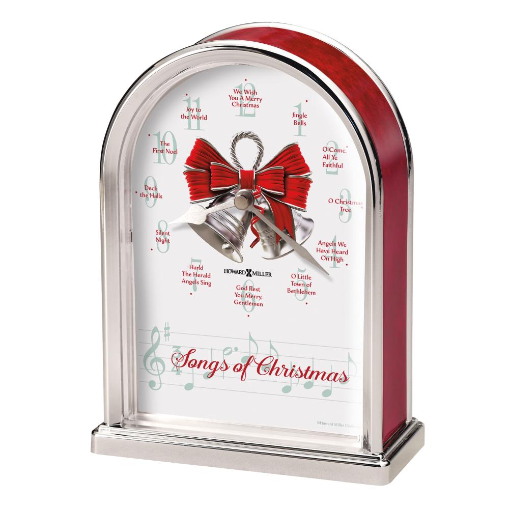 Image for Howard Miller Songs of Christmas Table Clock 645820 from Howard Miller Official Website