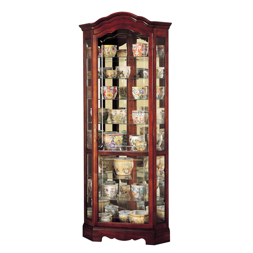 Image for Howard Miller Jamestown Curio Cabinet 680249 from Howard Miller Official Website